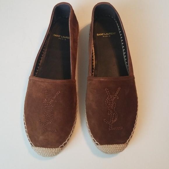 Yves Saint Laurent Shoes   Ysl Brown